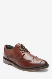 Next Italian Leather Brogues (Older) - 299262