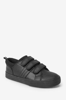 Next Leather Triple Strap Shoes (Older) - 299281