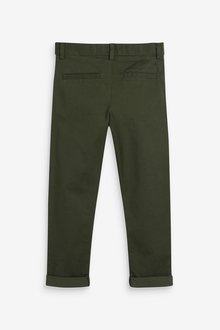 Next Stretch Chino Trousers (3-16yrs)-Slim Fit - 299319