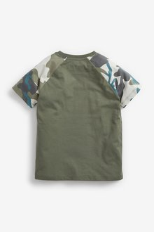 Next 3 Pack Short Sleeve Jersey T-Shirts (3-16yrs) - 299351