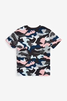 Next 3 Pack Next Camouflage T-Shirts (3-16yrs) - 299365