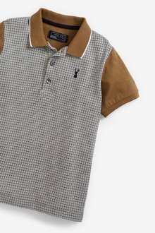 Next Heritage Check Short Sleeve Polo (3-16yrs) - 299367