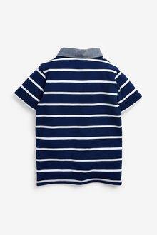 Next Striped Polo Shirt (3-16yrs) - 299375
