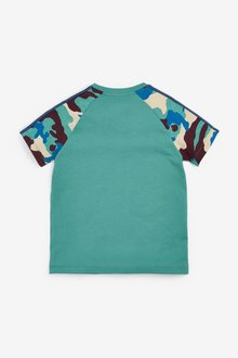 Next Camouflage Raglan T-Shirt (3-16yrs) - 299384