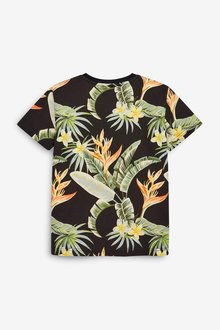 Next Hibiscus Short Sleeve T-Shirt (3-16yrs) - 299391