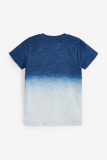 Next Dip Dye Short Sleeve T-Shirt (3-16yrs) - 299396