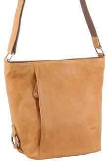 Milleni Leather Bucket Cross-Body Bag - 300450