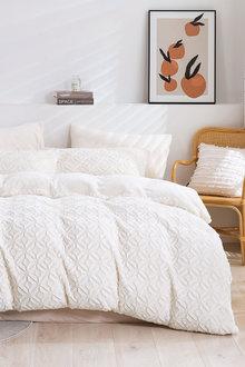 Dreamaker Tedding Fleece Quilt Cover Set - 300481
