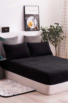 Dreamaker Tedding Fleece Fitted Sheet Set - 300670