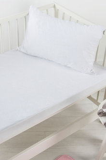 Dreamaker Cotton Terry Towelling Waterproof Mattress Protector - 300815