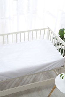Dreamaker Soft Waterproof Mattress Protector Fitted Sheet White - 300859
