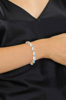 By Fairfax and Roberts Real Freshwater Pearl & Bead Kandi Island Bracelet - 300881