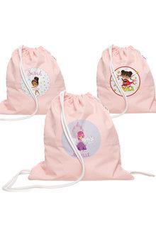 Personalised Lil Super Stars Wet Bag Pink - 301432