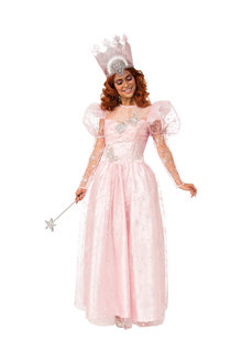 Rubies Glinda Deluxe Costume With Light Up Crown - 302134