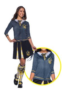 Rubies Hufflepuff Costume Top Adult - 302158