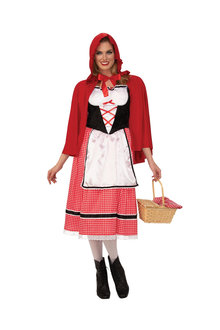 Rubies Little Red Riding Hood Ladies Costume - 302193