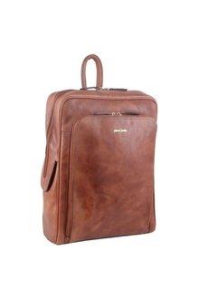 Pierre Cardin Leather Laptop Backpack - 302746