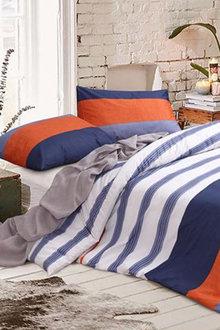 Amsons Kara Cotton Quilt Cover Set Multicolour - 302795