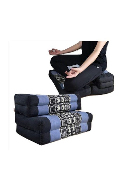 Mango Trees 3 Fold Zafu Meditation Cushion Set