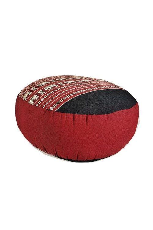 Mango Trees 40Cm Kapok Filled Zafu Ottoman Pouf Round Meditation Cushion