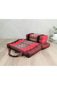 Mango Trees Foldable Meditation Cushion And Seating Block Set - 302973