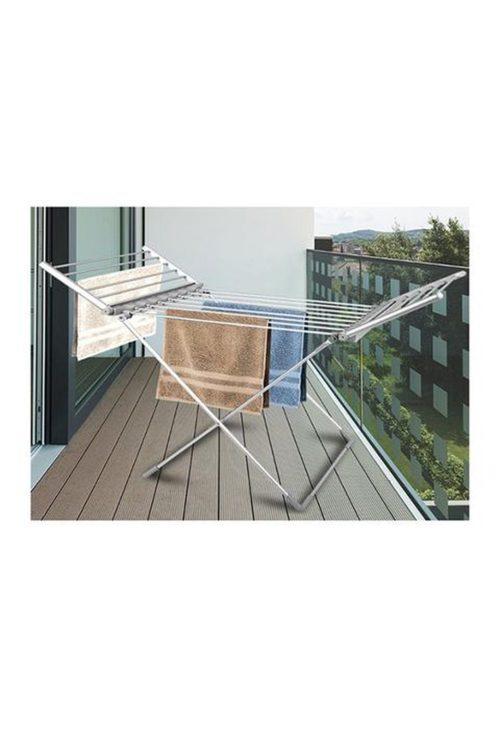 Heated Towel Clothes Rack Dryer Warmer Bathroom Air Warmer 230W