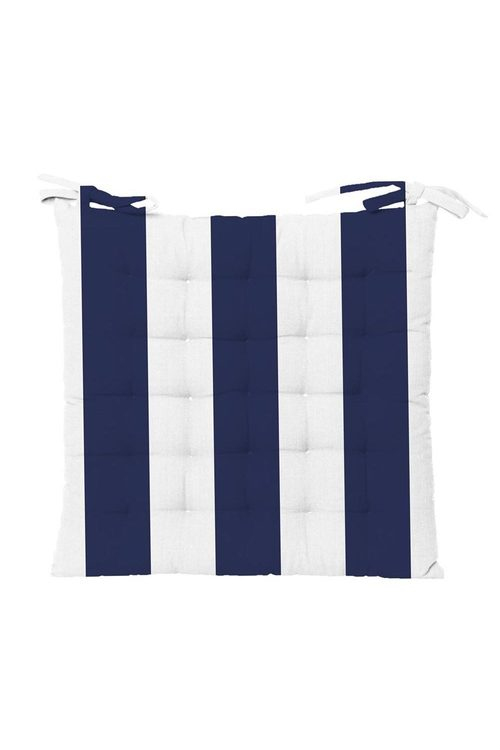 Outdoor Stripe Chair Pad