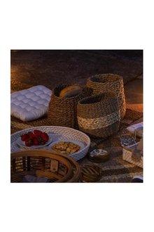 Accra Set Of Three Baskets - 303200
