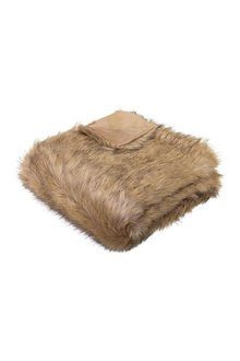 Grizzly Faux Fur Throw - 303213