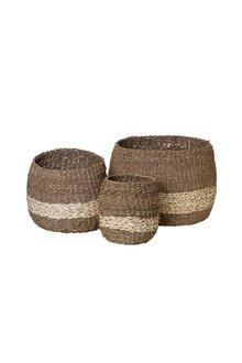 Kenya Set Of Three Baskets - 303215