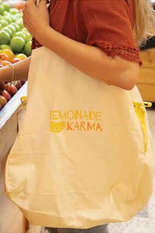 Lemonade Karma Shopping Bag
