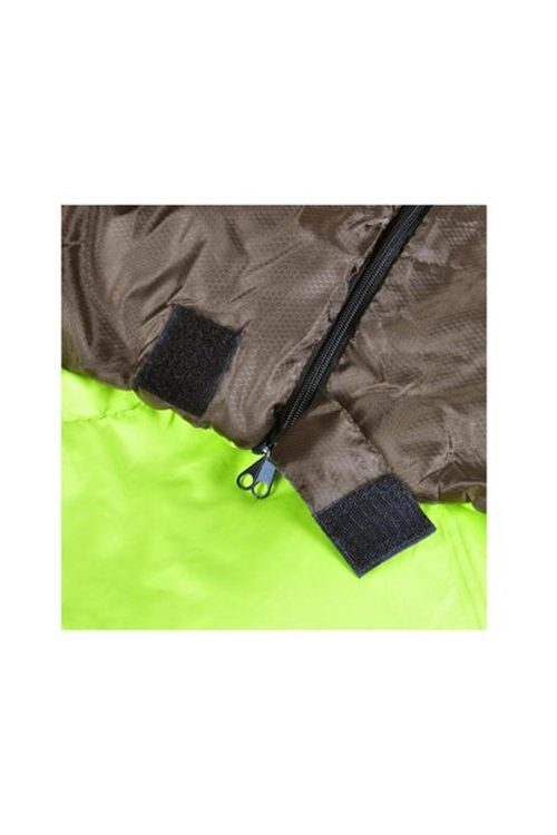 Double Camping Sleeping Bag Hiking Thermal Winter 220 X 145 Cm