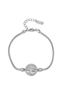 Mestige Maple Tree of Life Bracelet with Swarovski® Crystals - 303563