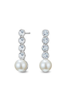 Mestige Capri Earrings with Swarovsk® Crystals - 303570