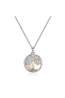 Mestige Willow Tree of Life Necklace with Swarovski® Crystals - 303588