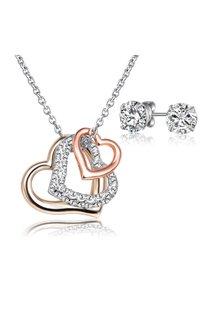 Mestige L'Amour Set with Swarovski® Crystals - 303593