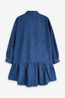Next Relaxed Shirt Dress (3-16yrs) - 309596