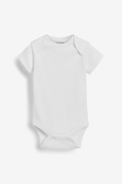 Next 7 Pack Short Sleeve Bodysuits (0mths-3yrs)