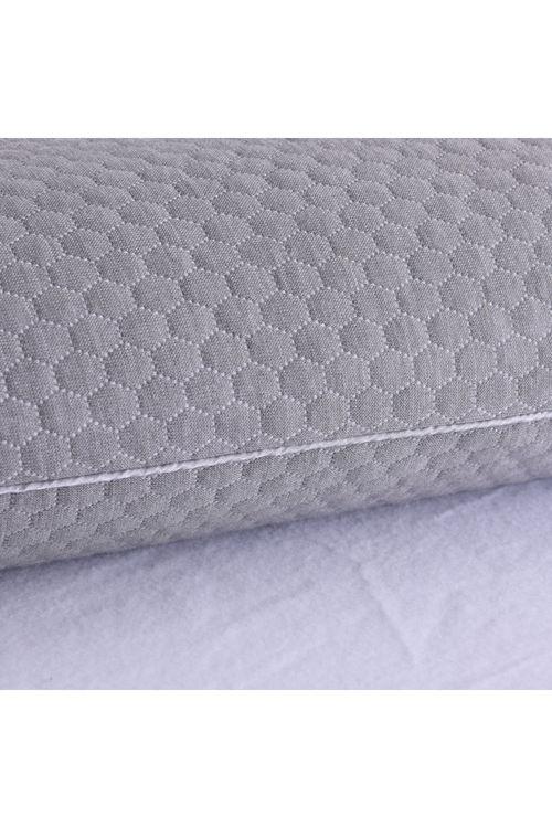 Vantec Nano Graphene Memory Foam Pillow Grey 65x40x12cm