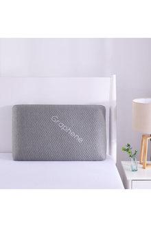 Vantec Nano Graphene Memory Foam Pillow Grey 65x40x12cm - 310658