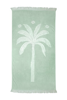 Jacquard Egyptian Cotton Beach Towel Oasis - 310700