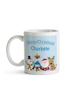 Personalised Christmas Friends Ceramic Mug - 310901