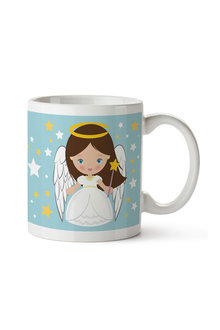Personalised Christmas Angel Ceramic Mug - 310910