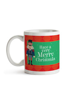 Personalised Christmas Nutcracker Ceramic Mug - 310911
