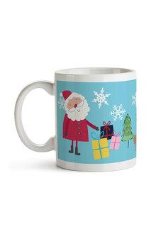 Personalised Christmas Santa Ceramic Mug - 310913