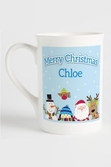 Personalised Christmas Friends Bone China Mug - 310915