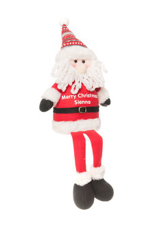 Personalised Sitting Santa - 311015