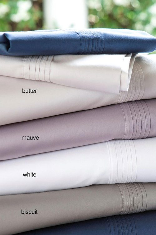400 Thread Count Egyptian 100% Cotton Sateen Sheet Set