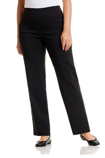 Plus Size - Sara Long Pull-On Pants
