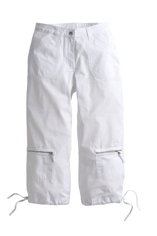 Capture European Casual Denim Capris